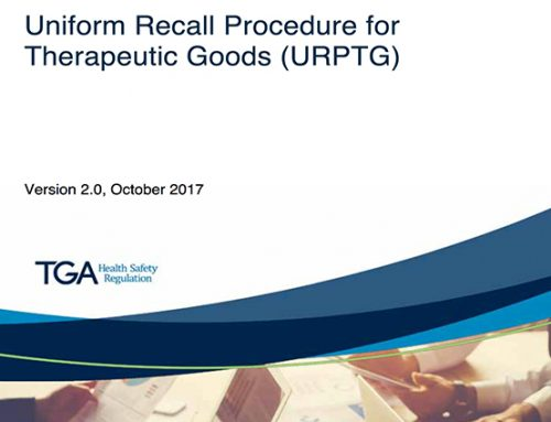 Changes to the Uniform Recall Procedure for Therapeutic Goods
